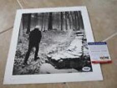 "Graham Nash Signed Autographed 11.75"" LP Record Lithograph PSA Certified #1"