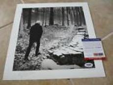 "Graham Nash Signed Autographed 11.75"" LP Record Lithograph PSA Certified #2"