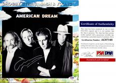 Graham Nash Signed - Autographed American Dream LP Record Album Cover with PSA/DNA Authenticity - Crosby, Stills, Nash, and Young