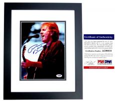 Graham Nash Signed - Autographed Crosby, Stills & Nash 8x10 inch Photo with PSA/DNA Authenticity BLACK CUSTOM FRAME