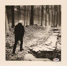 "GRAHAM NASH Signed Autographed ""This Path Tonight"" Album Insert PSA/DNA #AB63567"