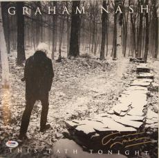 "GRAHAM NASH Signed Autographed ""This Path Tonight"" Album LP PSA/DNA #AB63582"