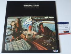 GRAHAM NASH signed Crosby Stills & Nash CSN Vinyl Record Album 1977 Original PSA
