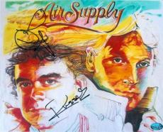 Graham Russell and Russell Hitchcock autographed 8x10 photo (Air Supply) Image #SC1