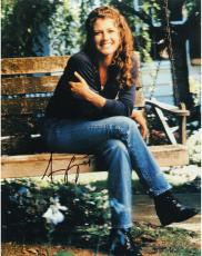 Amy Grant Autographed 8'' x 10'' Legs Crossed Photograph