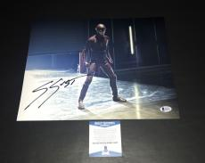 Grant Gustin Signed Auto The Flash 11x14 Photo Bas Beckett Coa 6