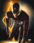 Grant Gustin Signed Auto The Flash 11x14 Photo Bas Beckett Coa 9