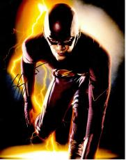 Grant Gustin Signed - Autographed The Flash 11x14 inch Photo - Guaranteed to pass PSA or JSA as Barry Allen