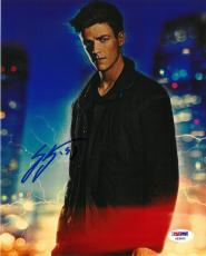 Grant Gustin Signed Flash Authentic Autographed 8x10 Photo PSA/DNA #AB69509