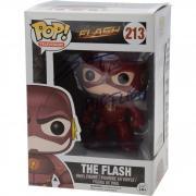 Grant Gustin The Flash Autographed #213 The Flash Funko Pop! - JSA