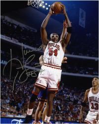 "Horace Grant Chicago Bulls Autographed 8"" x 10"" Glasses Photograph"