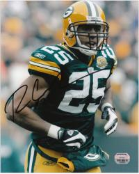 "Ryan Grant Green Bay Packers Autographed 8"" x 10"" Rushing Photograph"