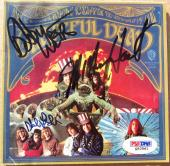 Grateful Dead 3x signed CD Cover 1st Album 1967 PSA/DNA Weir Hart Lesh