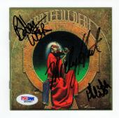 Grateful Dead 3x signed CD Cover Blues for Allah PSA/DNA Weir Hart Phil Lesh