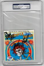Grateful Dead 3x signed CD Cover Live Import Album PSA/DNA Weir Hart Lesh