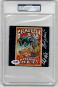 Grateful Dead 3x signed CD Cover Without a Net PSA/DNA Weir Hart Lesh