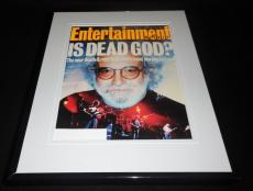 Grateful Dead Framed ORIGINAL 1993 Entertainment Weekly Cover Jerry Garcia