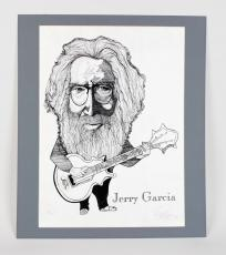Grateful Dead – Jerry Garcia 18×24 Artist Proof Print Signed by Artist Ramsess 1/2 AP