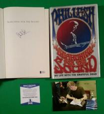 Grateful Dead Phil Lesh Signed Book Searching For The Sound + Photo Proof & Coa