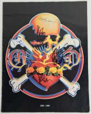 Grateful Dead Signed Autographed 1980 Program Garcia Lesh Weir PSA/DNA