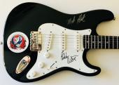 Grateful Dead signed Fender guitar Bob Weir mickey hart autographed psa dna loa
