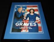Graves 2017 Epix Framed 11x14 ORIGINAL Advertisement Nick Nolte Sela Ward