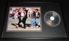 Grease Framed 12x18 Soundtrack CD & Photo Display John Travolta O Newton John