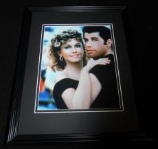 Grease Framed 8x10 Photo Poster Olivia Newton John & John Travolta B