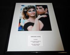 Grease John Travolta & Olivia Newton John Framed 11x14 Photo Display
