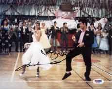Grease Newton-John & Travolta Autographed Signed 8x10 Photo Certified PSA/DNA