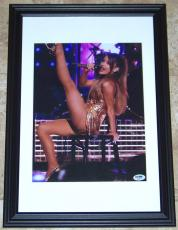 GREAT DEAL! Ariana Grande Signed Autographed Framed 10x15 Photo PSA COA!