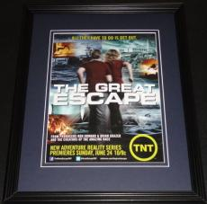 Great Escape 2012 TNT Framed ORIGINAL Vintage 11x14 Advertisement Ron Howard