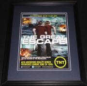 Great Escape 2012 TNT Framed ORIGINAL Vintage 11x14 Advertisement Ron Howard