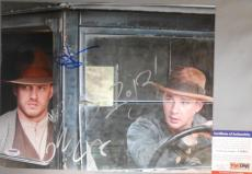 GREAT MOVIE! Tom Hardy Shia LaBeouf Signed LAWLESS 11x14 Photo PSA/DNA Tough