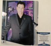 GREAT SHOW!!! Gary Sinise MAC TAYLOR Signed CSI NY 8x10 Photo #1 Beckett BAS