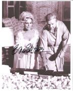 """GREEN ACRES"""" Signed by EDDIE ALBERT and EVA GABOR as OLIVER & LISA DOUGLAS - 8x10 B/W Photo"""