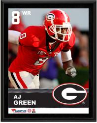 "AJ Green Georgia Bulldogs Sublimated 10.5"" x 13"" Plaque"