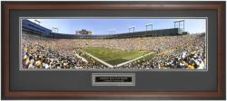Green Bay Packers Lambeau Field 2003 Framed Panoramic - Mounted Memories