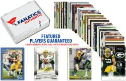 Green Bay Packers Team Trading Card Block/50 Card Lot - Mounted Memories