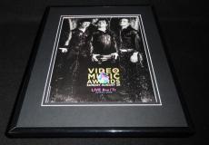 Green Day 2005 MTV VMA Framed 11x14 ORIGINAL Vintage Advertisement