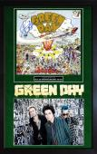 Green Day Signed Dookie LP Album Framed Custom Display PSA/DNA AFTAL