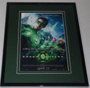 Green Lantern Framed 8x10 Repro Poster Display Ryan Reynolds Blake Lively