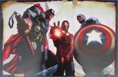 Greg Horn Signed MARVEL Thor Iron Man Captain America 11x17 Print 127125