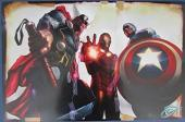 Greg Horn Signed MARVEL Thor Iron Man Captain America 11x17 Print 127148