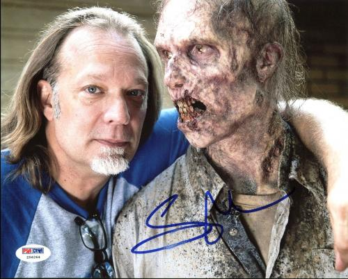 Greg Nicotero The Walking Dead Signed 8X10 Photo PSA/DNA #Z56264