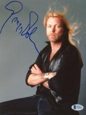 "Gregg Allman Autographed 8""x 10"" The Allman Brothers Arms Crossed Photograph - Beckett COA"
