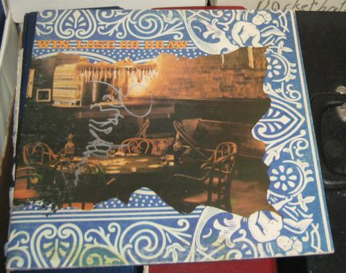 Gregg Allman Brothers Band Signed Autographed 1975 Win Lose Or Draw Album Coa