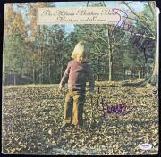 Gregg Allman & Jaimoe Johanson Allman Brothers Signed Album W/ Vinyl PSA #Q51578