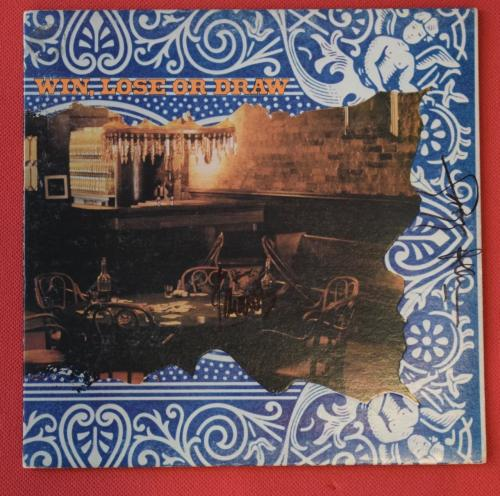 Gregg Allman + Jaimoe Signed Win Lose or Draw Record Album Brothers Band Proof