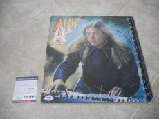 Gregg Allman Playin Up A Storm Signed Autographed LP Record PSA Certified